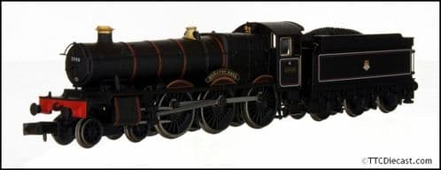 DAPOL 2S-010-004 Hall Class - 5908 'Moreton Hall' BR Lined Black Early Crest