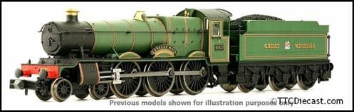 DAPOL 2S-010-005 Hall Class - 4953 'Pitchford Hall' Great Western Green