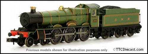 DAPOL 2S-010-007 Hall Class - 4970 'Sketty Hall' Great Western Lined Green