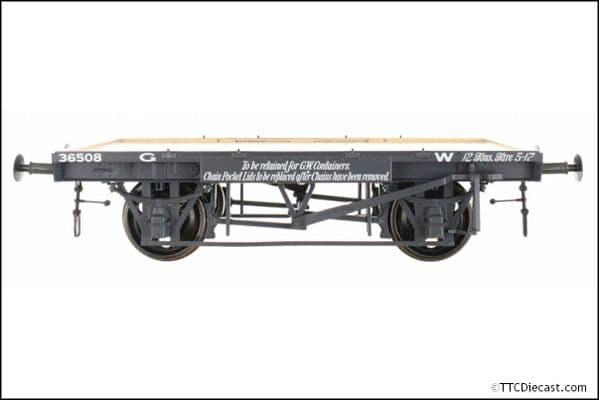 DAPOL 7F-037-101 GWR Conflat 36508 Non Vacuum H9, O Gauge