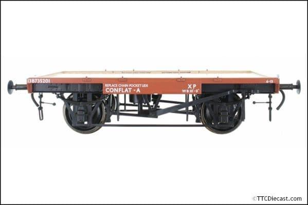 DAPOL 7F-037-102 BR Conflat A B735201 13 Tons 6.13, O Gauge