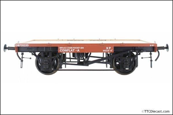 DAPOL 7F-037-103 BR Conflat A B735233 13 Tons 6.0, O Gauge