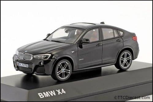 Dealer model BMW 2348788 - BMW X4 F26 Black Saphire -  1:43 Scale