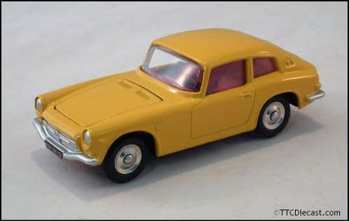 Dinky 1408 Honda S 800 - Yellow Reproduced by Atlas Editions