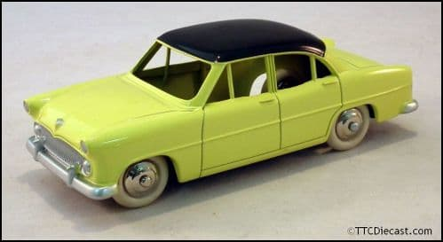 Dinky 24Z Simca Versailles - Yellow Reproduced by Atlas Editions
