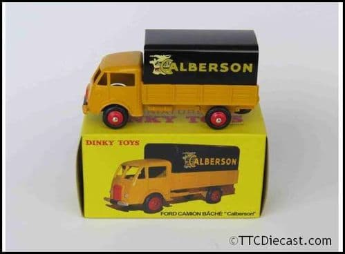 Dinky 25JJ Ford Camion Covered Pickup-Calberson Reproduced by Atlas Editions