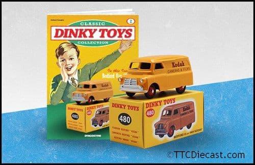 Dinky 480 Bedford Kodak Reproduced by Atlas Editions