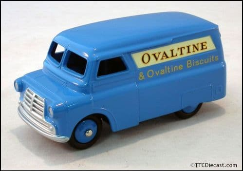 Dinky 481 Bedford 12 Van - Ovaltine Reproduced by Atlas Editions