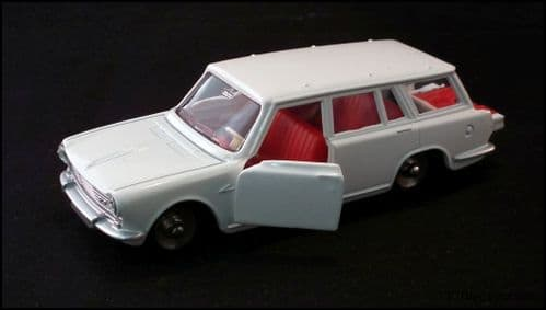 Dinky 507 Simca 1500 Break - White Reproduced by Atlas Editions