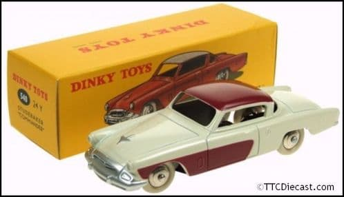 Dinky 540 Studebaker Commander Reproduced by Atlas Editions