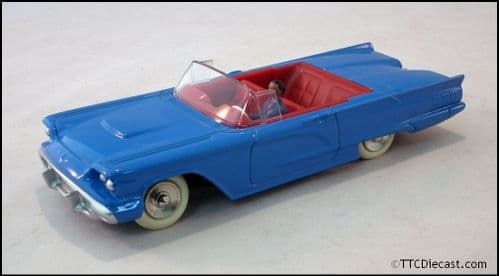 Dinky 555 Ford Thunderbird - Blue Reproduced by Atlas Editions