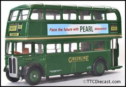 EFE 101001 AEC Regent RT - London Transport - Route 717 Relief / London **RARE** - PRE OWNED