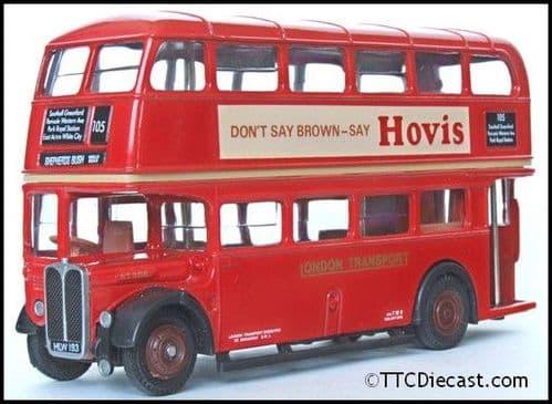 EFE 10106DL AEC Regent RT ' London Transport ' Hovis - Route 105 Shepherds Bush Well Road