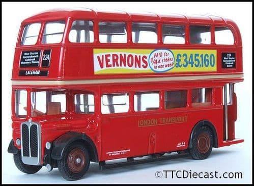 EFE 10112 AEC Regent RT - London Transport - Route 224 Laleham - PRE OWNED