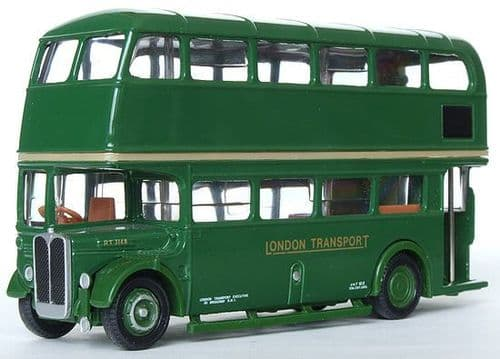 EFE 10121 AEC Regent RT - London Transport RARE BLANK *PRE OWNED*