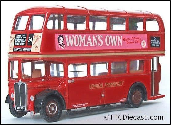 EFE 10122 Leyland Titan SRT - London Transport - Route 24 Hampstead Heath - PRE OWNED