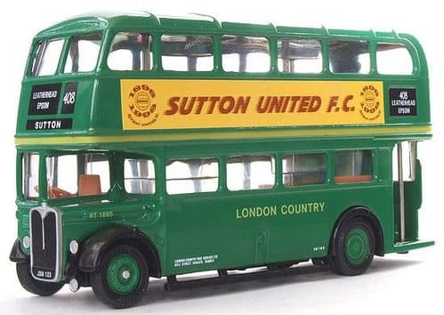 EFE 10123C AEC Regent RT - London Transport SUTTON UNITED *PRE OWNED*