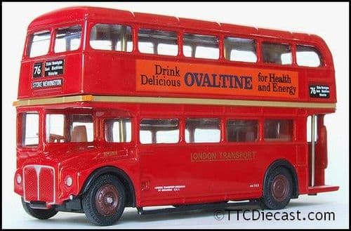 EFE 15602B AEC Routemaster ' London Transport RM1818' Route 76 - Ovaltine - PRE OWNED