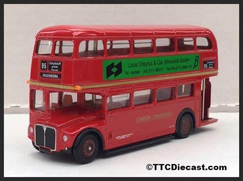 EFE 15605BC AEC Routemaster London Transport, Route 95 Paderborn Louis Dreyfus