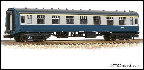 Farish 374-164A BR Mk1 FK First Corridor BR Blue & Grey (Motorail)