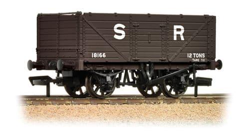 Farish 377-089 7 Plank Fixed End Wagon SR Brown  *LAST FEW*