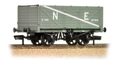Farish 377-090 7 Plank Wagon End Door NE Grey  *LAST FEW*