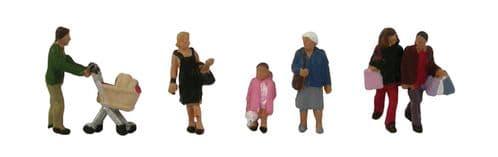 Farish 379-306 Shopping Figures