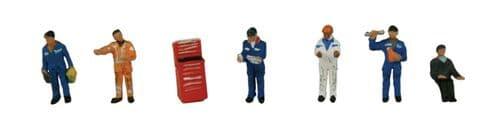 Farish 379-311 Traction Maintenance Depot Workers