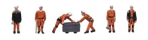 Farish 379-313 1960/70's Coal Miners