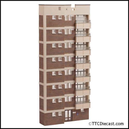 Farish 42-265 Low Relief Block of flats
