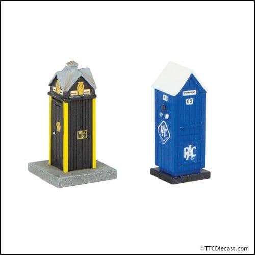 Farish 42-585 Roadside Rescue Phone Boxes - N Gauge