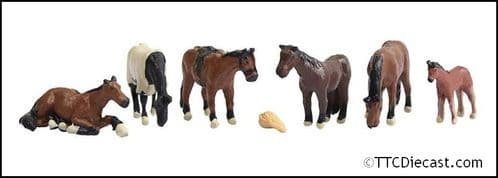 Graham Farish 379-340 Horses - N Gauge