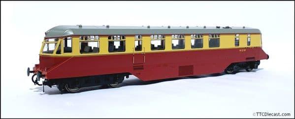HELJAN 19402 GWR Railcar BR crimson/cream (white cab roof) OO Gauge