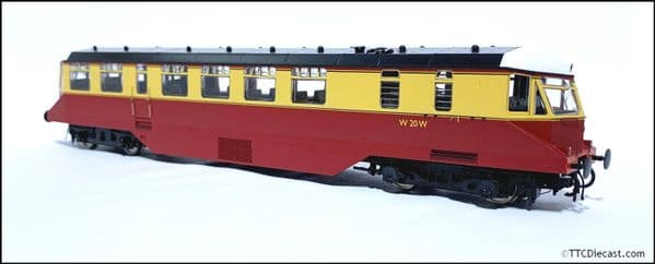 HELJAN 19403 GWR Railcar BR crimson/cream (dark grey roof) OO Gauge