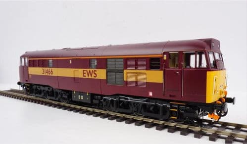 HELJAN 3143 Class 31 EWS red/gold 31466 , O Gauge