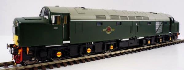 HELJAN 4061 Class 40 BR green Small Yellow Panels, O gauge