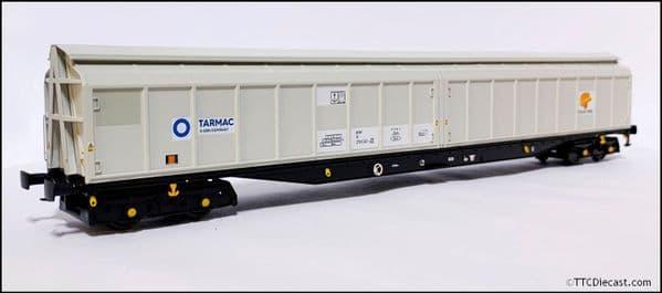 HELJAN 5022 Cargowaggon IWB Bogie Van Colas/Tarmac Grey, OO Gauge