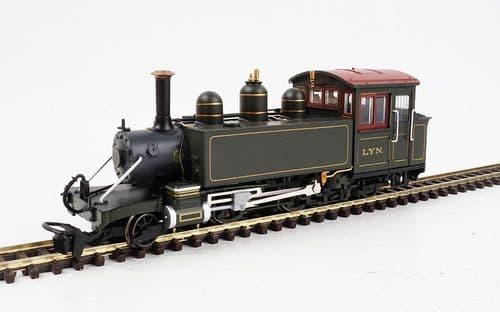 HELJAN 9981 L & B Baldwin 2-4-2T Lyn L&BR dark green (pre-1906)