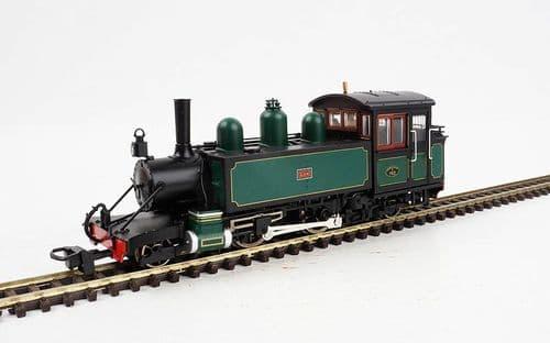 HELJAN 9983 L & B Baldwin 2-4-2T E762 Lyn SR dark green (1923-29)