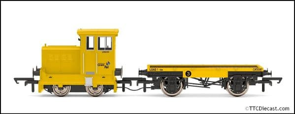 HORNBY R3853 GrantRail Ltd, Ruston & Hornsby 48DS, 0-4-0, GR5090 - Era 9, OO Gauge