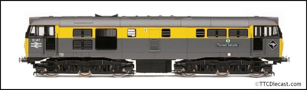 HORNBY R3880 BR, Class 31, A1A-A1A, 31147 'Floreat Salopia' - Era 8, OO Gauge