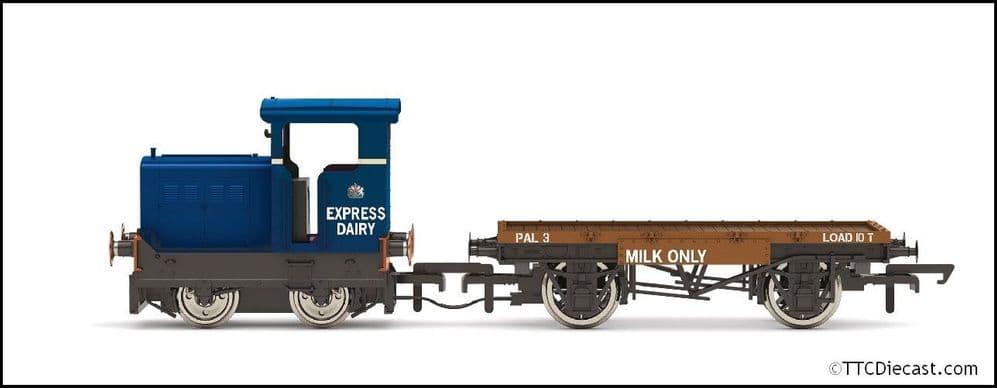 HORNBY R3943 Express Dairy Co. Ltd Ruston & Hornsby 48DS 235511 Era 4/5/6, OO Gauge