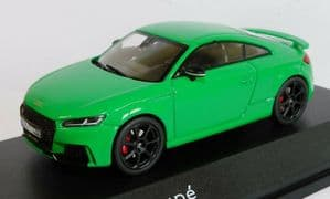 iScale 5011610432 - 1:43 Scale Audi TT RS Coupe Green - Audi Dealer Packaging