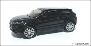 IXO LDDC961BKY - 1:43 Scale Range Rover Evoque 3 Door Black