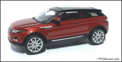 IXO LRDCA3EVOQR - 1:43 Scale Range Rover Evoque - Firenze Red