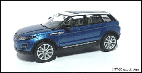 IXO LRDCA5EVOQ - 1:43 Scale Range Rover Evoque 5 Door - Blue