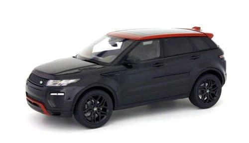 Jaguar Land Rover KYO 09549BK - 1:18 Scale Range Rover Evoque HSE Dynamic LUX - Santorini Black