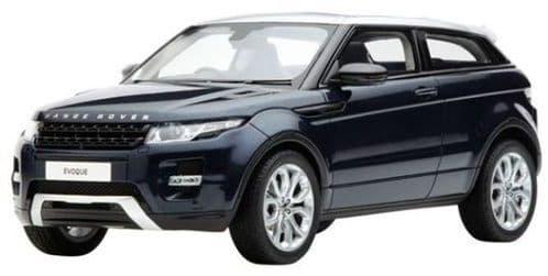 Jaguar Land Rover LRDCAREBB118 - 1:18 Scale Range Rover Evoque - Baltic Blue - 1:18