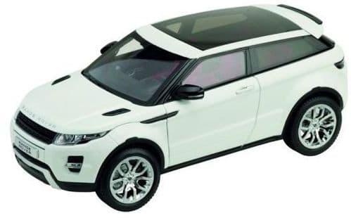 Jaguar Land Rover LRDCAWELEVOGTW - 1:18 Scale Range Rover Evoque 3dr - White