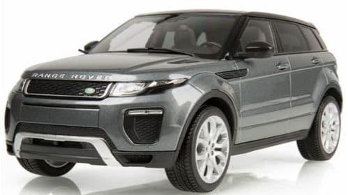 KYOSHO  LDDC007GYW - 1:18 Scale Range Rover Evoque 5dr - Grey,  Dealer Packaging